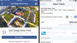 Ahora podrás comprar boletos desde Facebook
