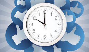 horarios para publicar en redes sociales