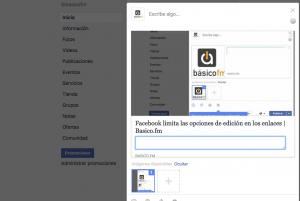 Facebook enlaces